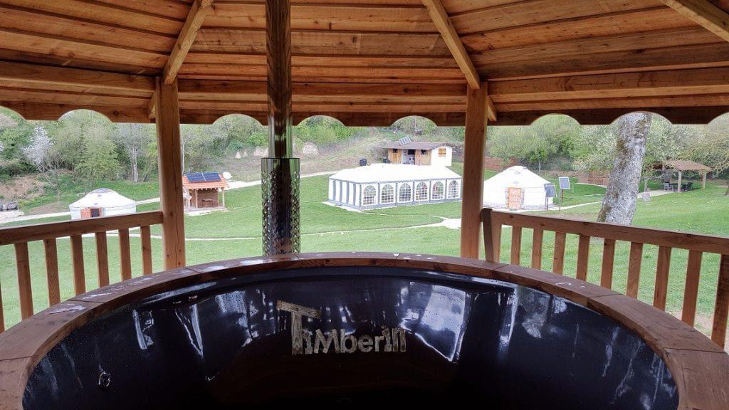 Empthying Fiberglass Hot Tub With Internal Heater