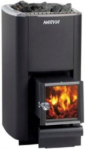 Harvia M3 SL wood fired stove for outdoor sauna