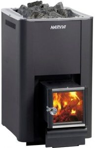 Harvia 20 SL wood fired stove for outdoor sauna