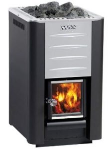 Harvia 20 PRO wood fired stove for outdoor sauna