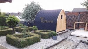Outdoor Sauna Igloo, Philip Higgins, Nottingham, UK (1)