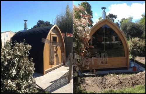Outdoor igloo
