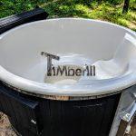 Garden fiberglass hot tub