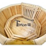 Wooden hot tub larch flat pack