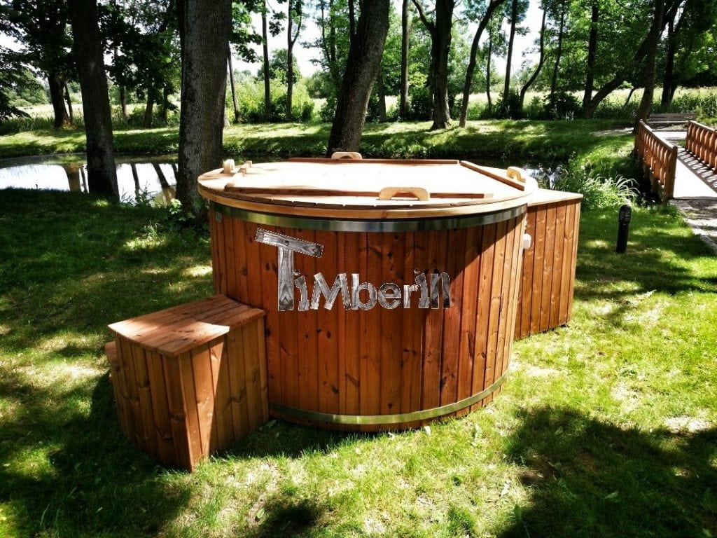 Electricity Heated Outdoor Jacuzzi Thermo Wood Hot Tub