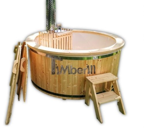 Fiberglass Hot Tub With Snorkel Heater Wellness Basic