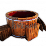 Wooden Hot Tub With Electric Heater