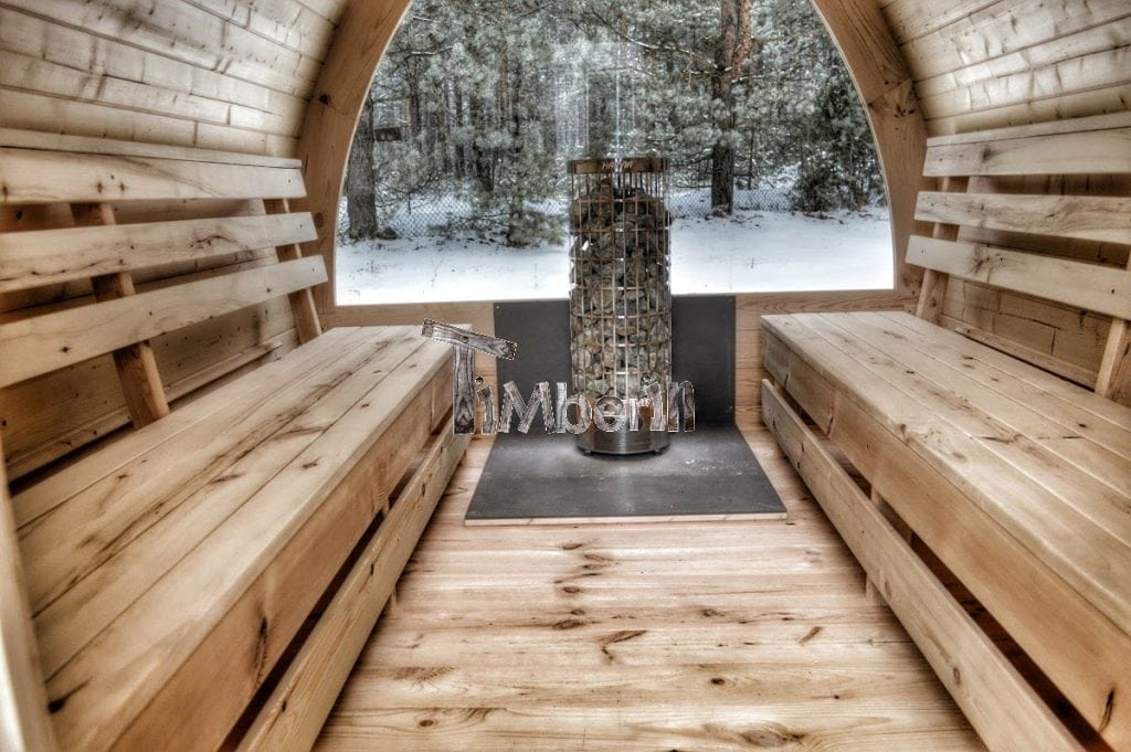 Outdoor Garden Sauna Igloo Design Timberin