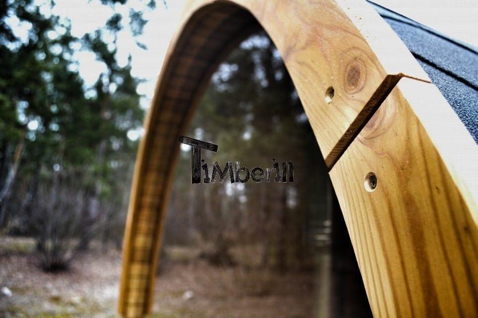 Round Barrel Sauna Timberin