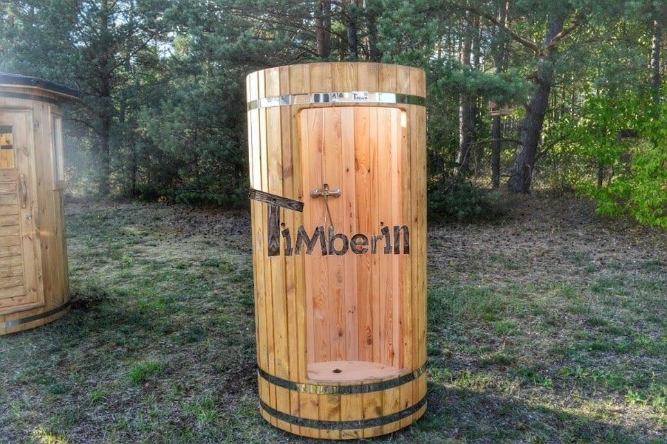 Outdoor Indoor Wooden Shower Timberin