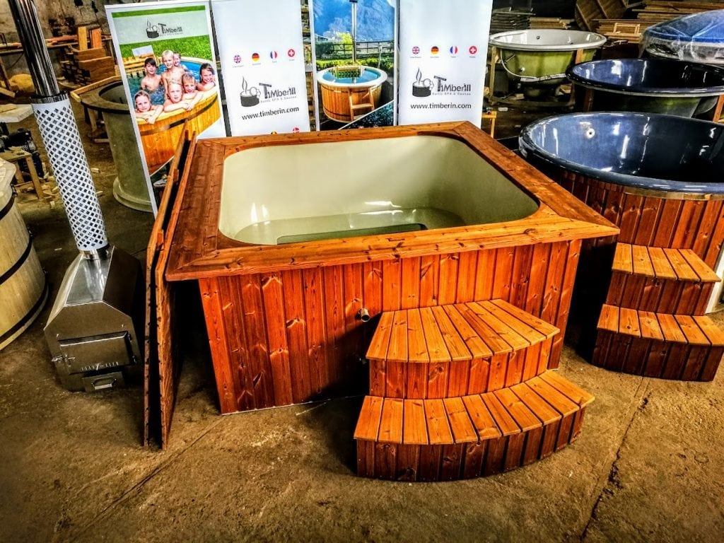 Wood-fired-hot-tub-square-rectangular-model-with-external-wood-burner-1 Home
