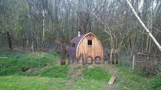 DIY Garden Sauna Matthew East Sussex, UK main