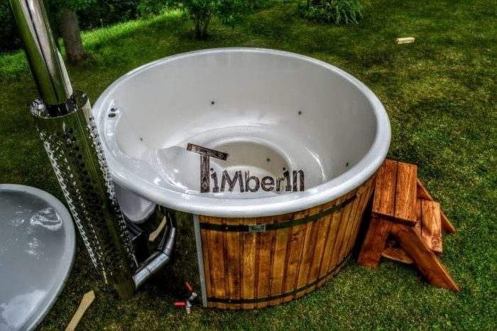 Wood Fired Burning Hot Tubs With Jets