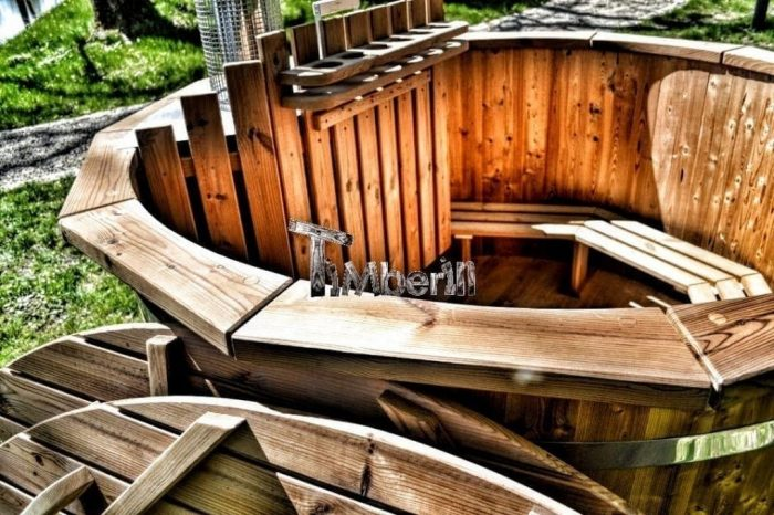 Wooden Jacuzzi Hot Tubs