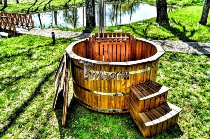 Wooden Wood Hot Tubs With Jets