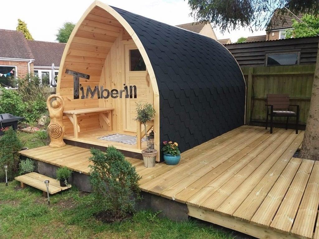 outdoor iglu sauna sarah northamptonshire uk 1