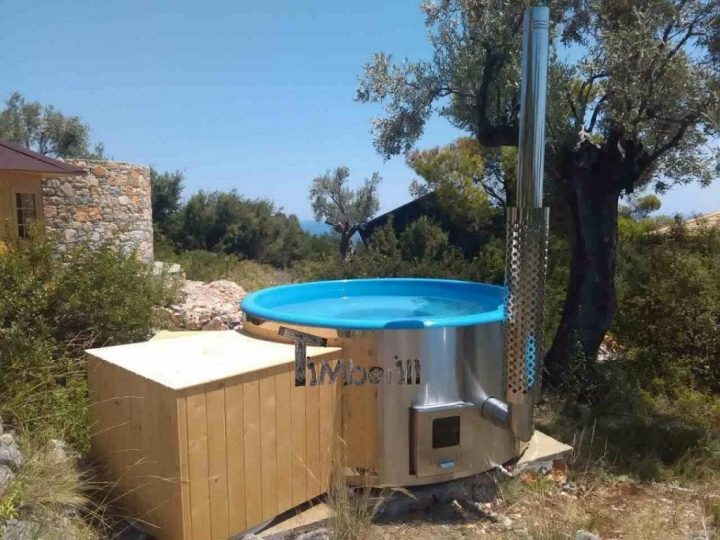 Fiberglass Lined Outdoor Spa With Integrated Heater Spruce Wellness Deluxe, Mark , Patitiri, Greece (2)