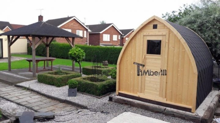 Outdoor Sauna Igloo, Philip, Nottingham, UK (2)
