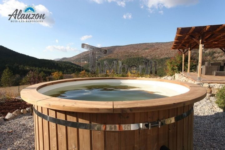 Polypropylene Lined Outdoor SPA, Adrian, Buis Les Baronnies, France (3)