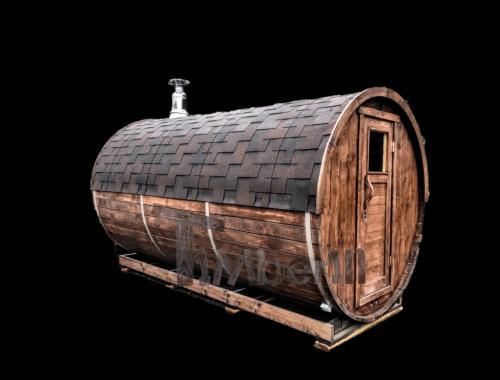 Outdoor Barrel Round Sauna
