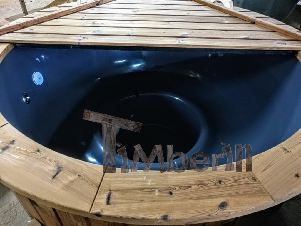 Electric outdoor hot tub Wellness Conical