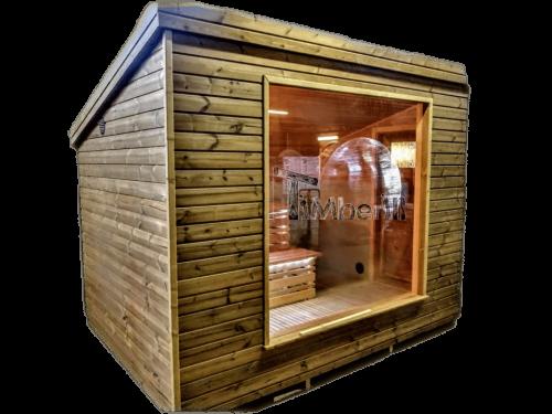 Modern Outdoor Garden Sauna (1)