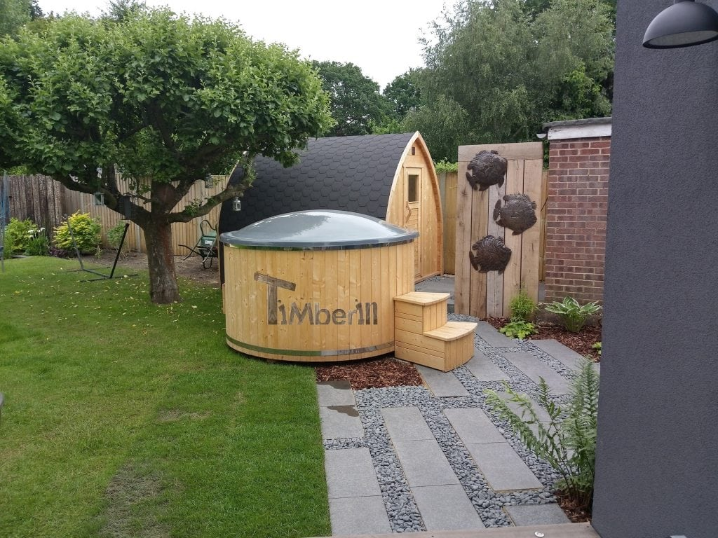 Wellness-Deluxe-electric-outdoor-hot-tub-spa-and-igloo-sauna-ANDREW-Walton-on-Thames-U.K. Wellness Deluxe electric outdoor hot tub spa and igloo sauna, ANDREW, Walton-on-Thames, U.K.