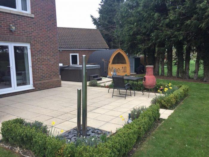 Outdoor-garden-igloo-sauna-Darren-Worlington-U.K.-7-700x525 Outdoor garden igloo sauna, Darren, Worlington, U.K.
