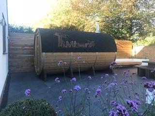 Outdoor Barrel Round Sauna Heather Chelmsford Essex U 1