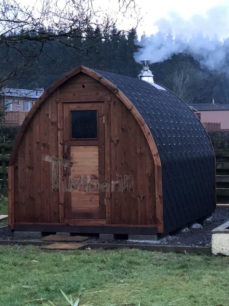 Outdoor Garden Sauna Igloo Design Cameron Rothesay U.K 3