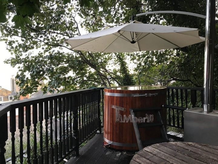 Wooden Hot Tub For 2 Persons, Mike, U.K.