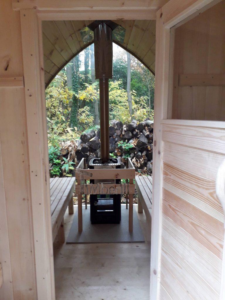 Outdoor Garden Sauna Igloo Design Jolyon Kent U 3