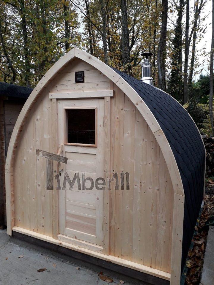 Outdoor Garden Sauna Igloo Design, Jolyon, Kent, U K (1)
