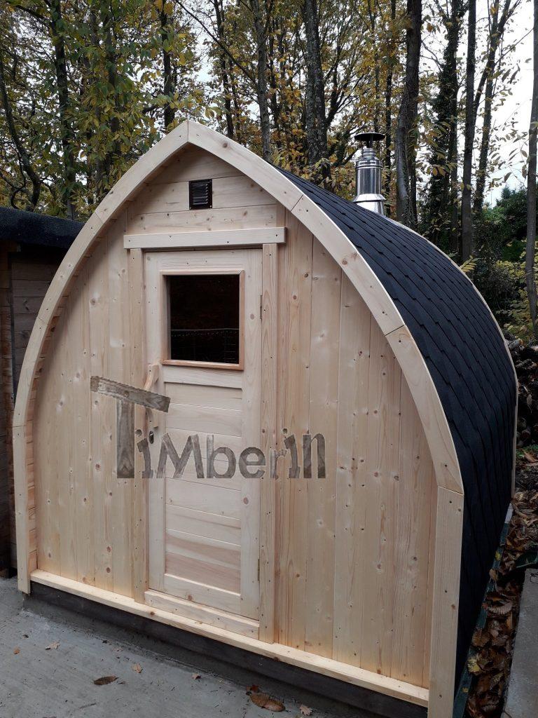 Outdoor Garden Sauna Igloo Design Jolyon Kent U.K 1