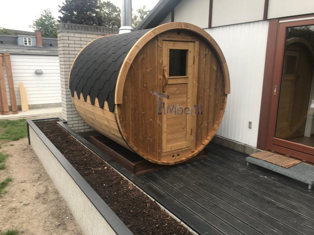 Outdoor garden sauna igloo Yulia Hvidovre Denmark