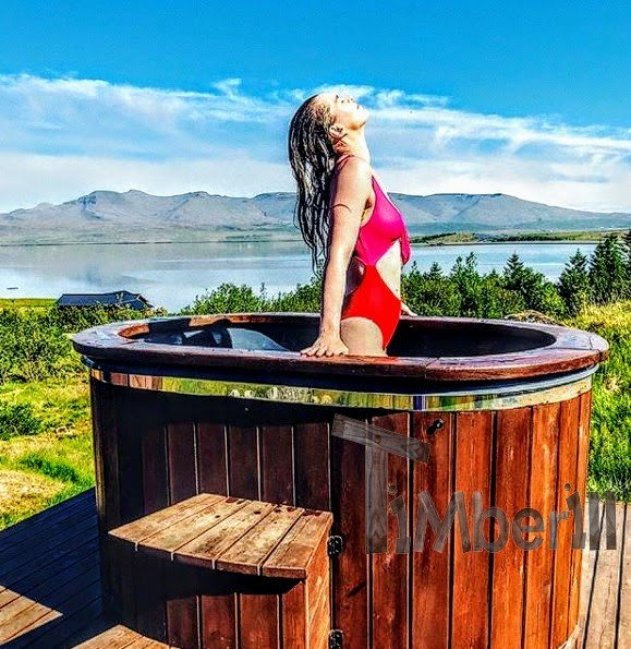 Wooden hot tubs