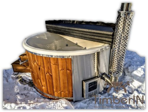 Wooden hot tub with jets wood fired hot tub with jets main