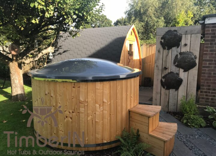 Outdoor garden sauna pod – iglu