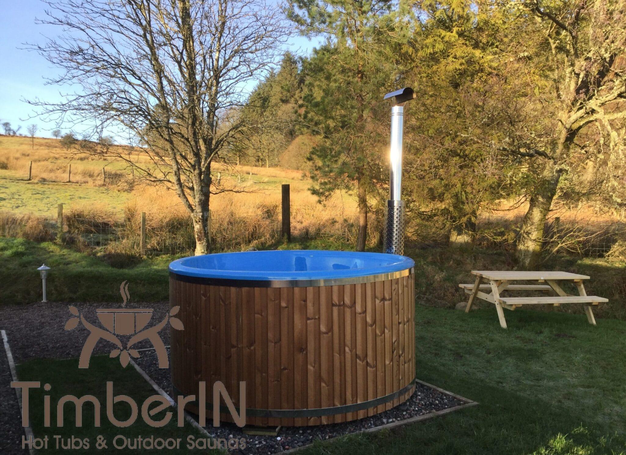 Wood burning hot tub Wellness Royal scaled