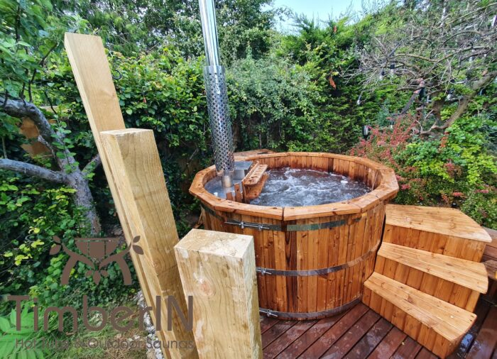 Wooden hot tub possible with jets deluxe thermowood (1)