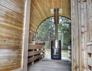 Outdoor-sauna-with-wood-stove-and-panoramic-glass Outdoor sauna gallery