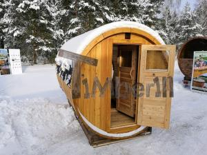 Outdoor-garden-wooden-sauna-barrel Sauna gallery