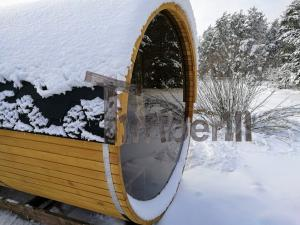 outdoor-garden-wooden-sauna-kits-diy-with-panoramic-windoe Sauna gallery