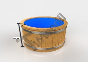 2 Electric outdoor hot tub Wellness Conical