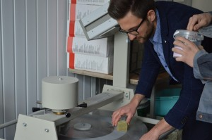Albert_TimberIN_at_University_lab_testing_wood_and_fiberglass_(11) University