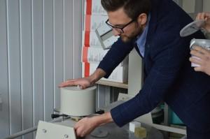 Albert_TimberIN_at_University_lab_testing_wood_and_fiberglass_(12) University