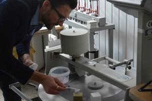 Albert_TimberIN_at_University_lab_testing_wood_and_fiberglass_(13) University