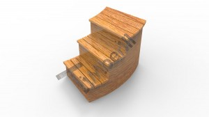 C_type_stairs_(2) wooden hot tub thermo wood basic