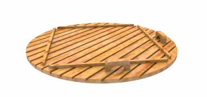 Wooden_lid_render_(4) Electric outdoor hot tub Wellness Conical